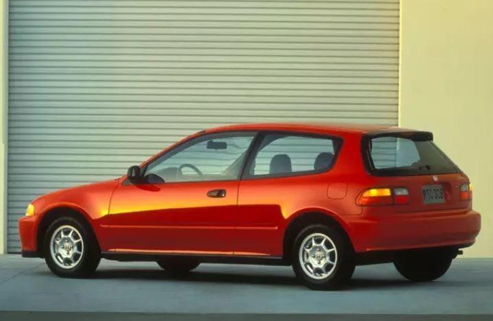 五代Civic國內代號K6正式引起風潮。 摘自Honda