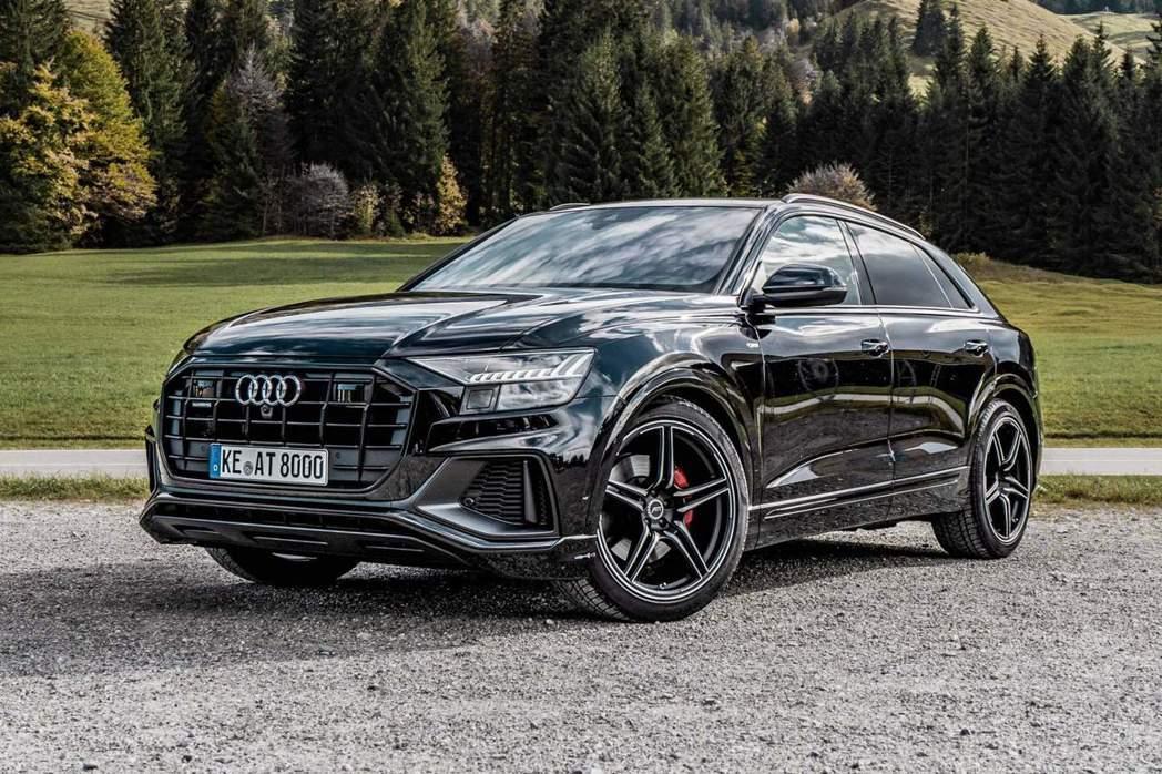 ABT為Audi Q8 50TDI打造性能更猛烈的版本。 摘自ABT Sport...