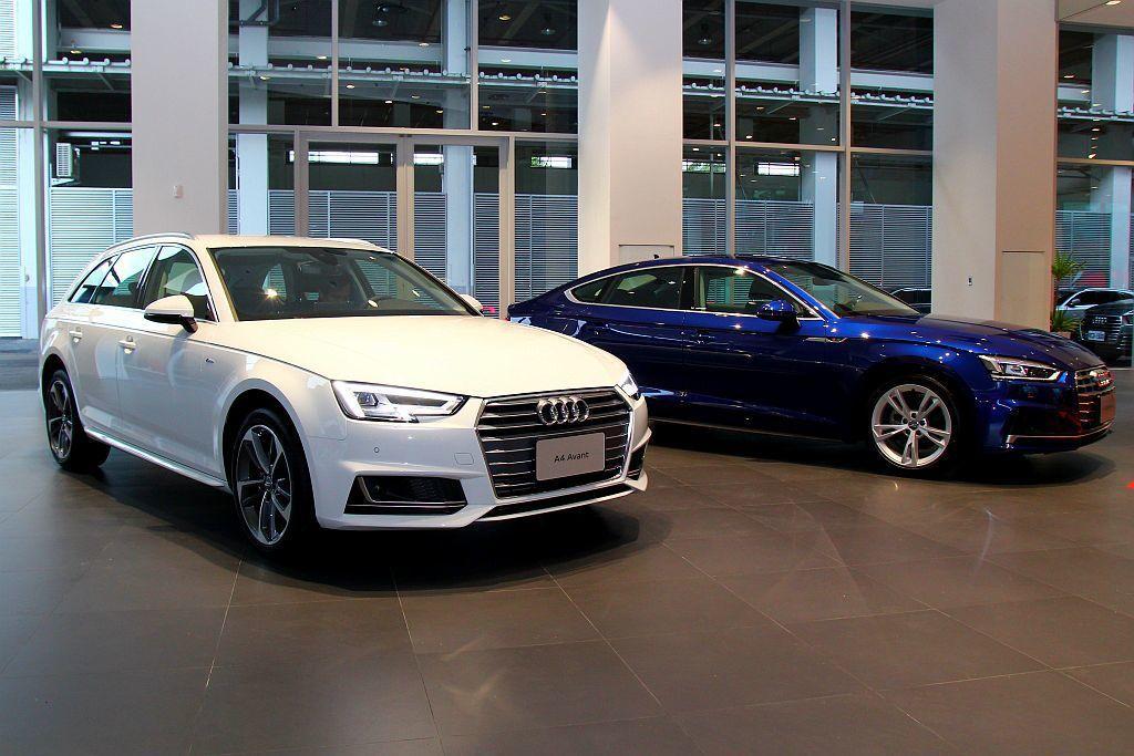 台灣奧迪重新調整Audi A4與A5 Sportback兩大車系銷售陣容,入門車...