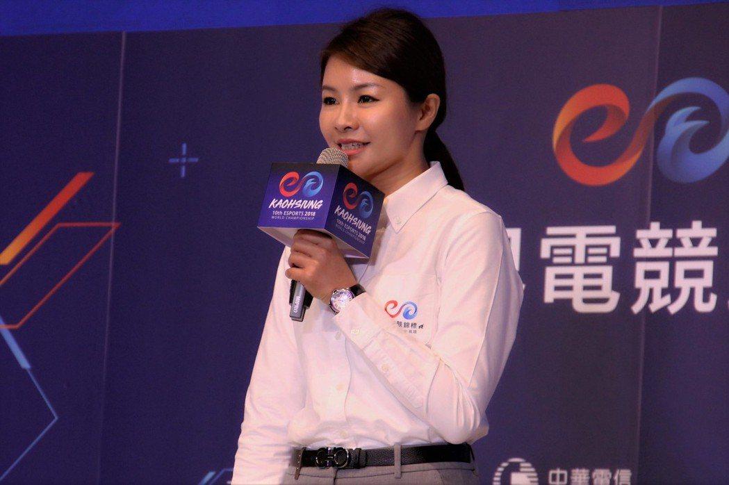 台灣電競聯盟(TESL)的理事長徐培菁