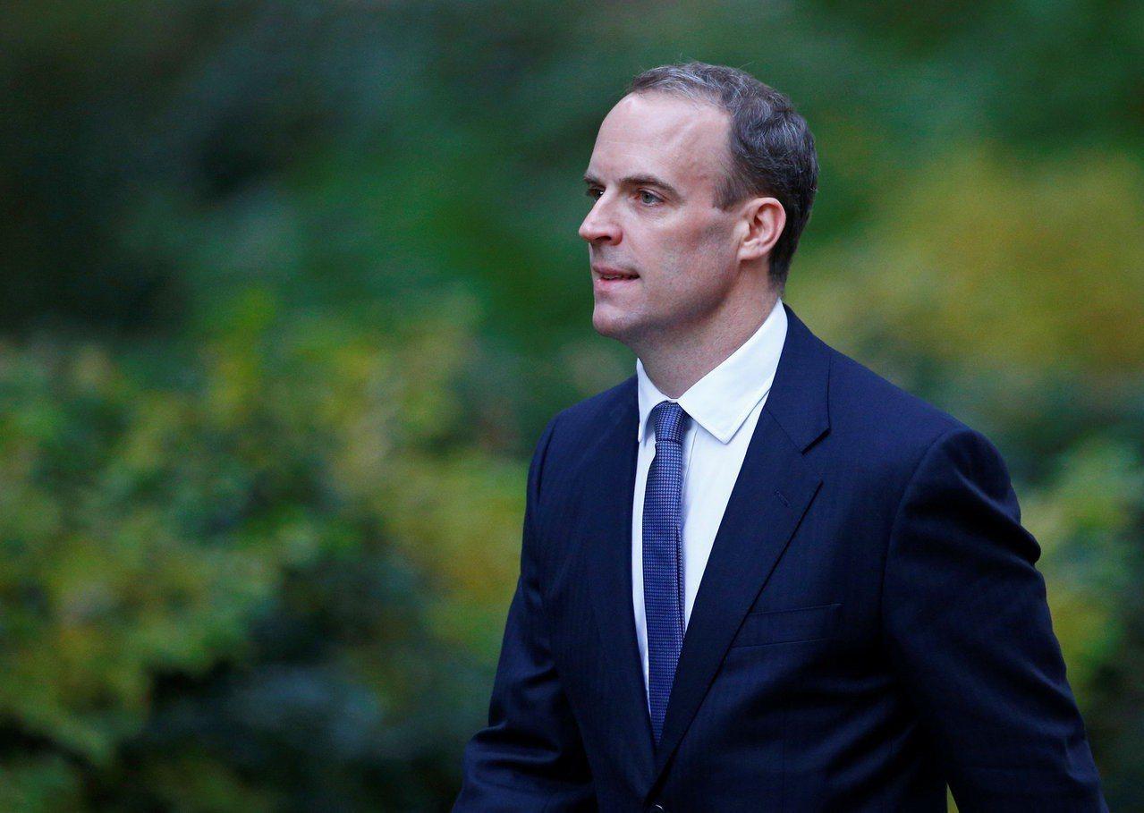 英國脫歐事務大臣拉布致函國會表示,預計11月21日與歐盟達成脫歐協議,不料隨即改...