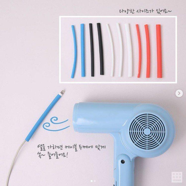 韓國大創賣到缺貨的「塑膠管」。圖/翻攝自daisolife IG