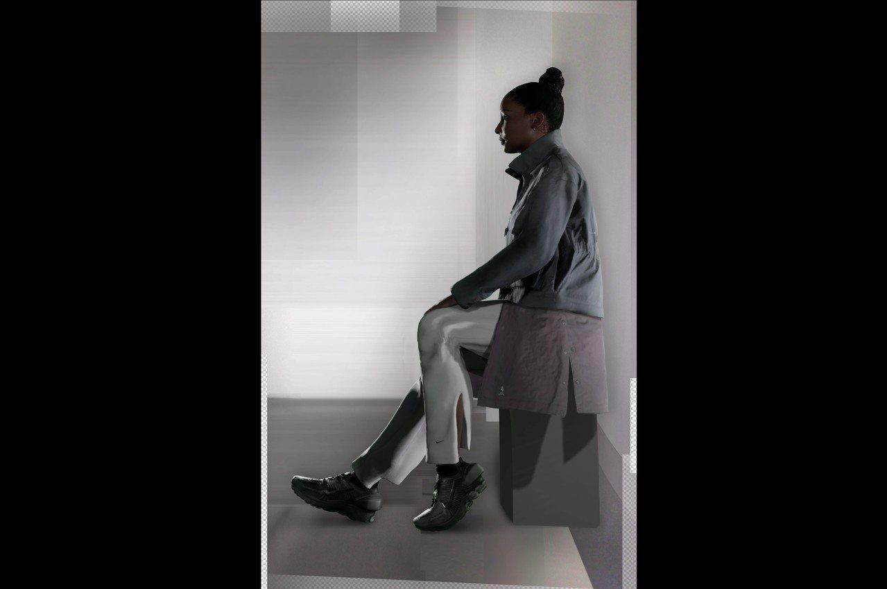 Nike與A–COLD–WALL*聯名系列服裝使用了機能性的日本尼龍材料,穿著後...