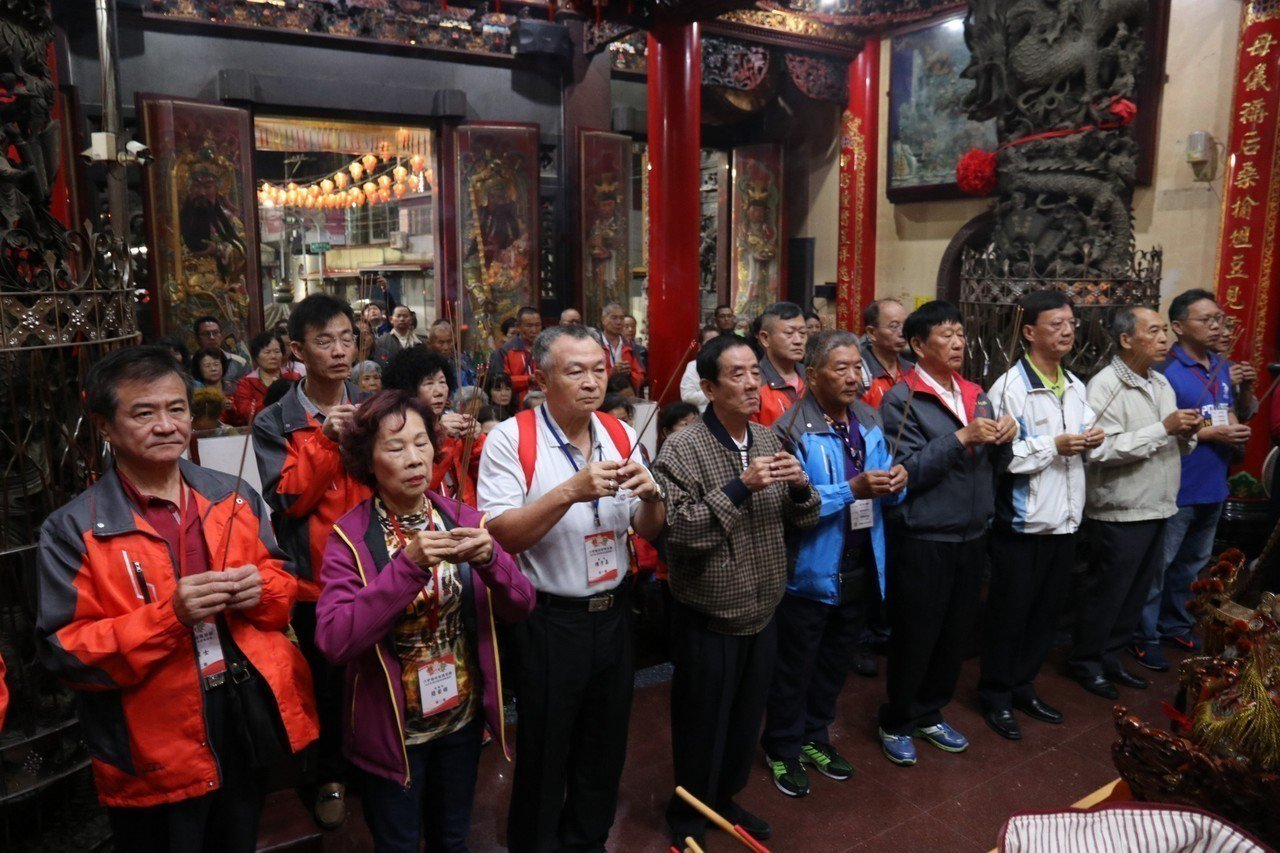 延續兩岸宗教交流, 六甲恒安宮今出發,前往大陸湄洲媽祖進香。圖/六甲恒安宮提供