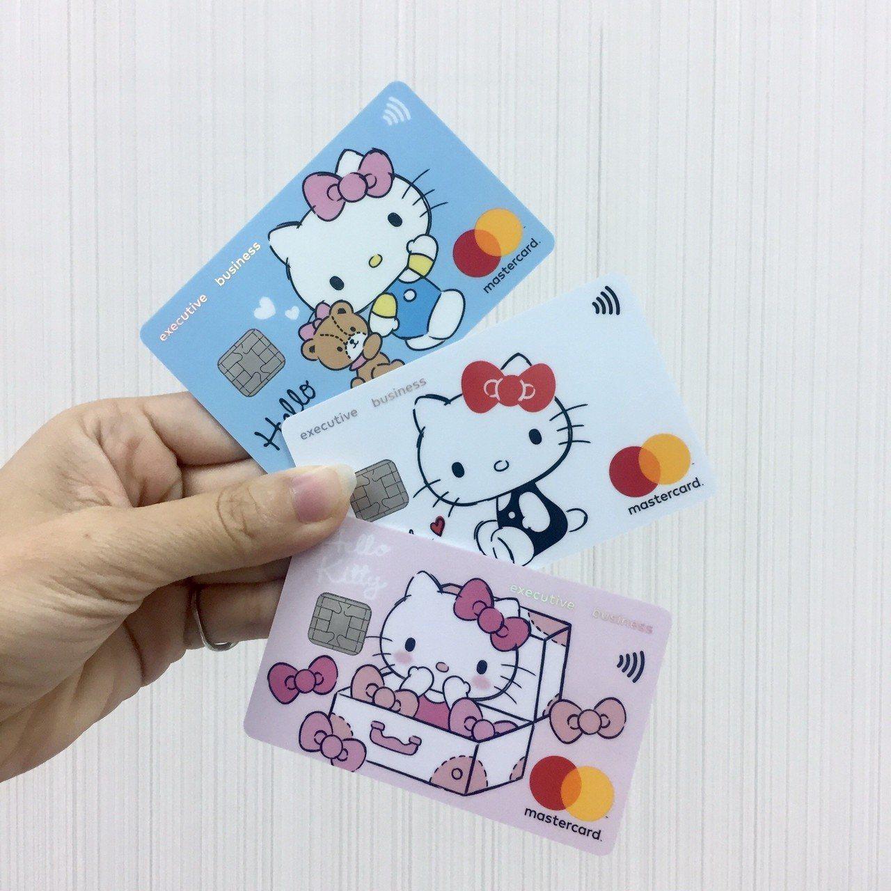 超萌icash2.0聯名卡再添元大Hello Kitty卡款,有三種主題圖案可供...