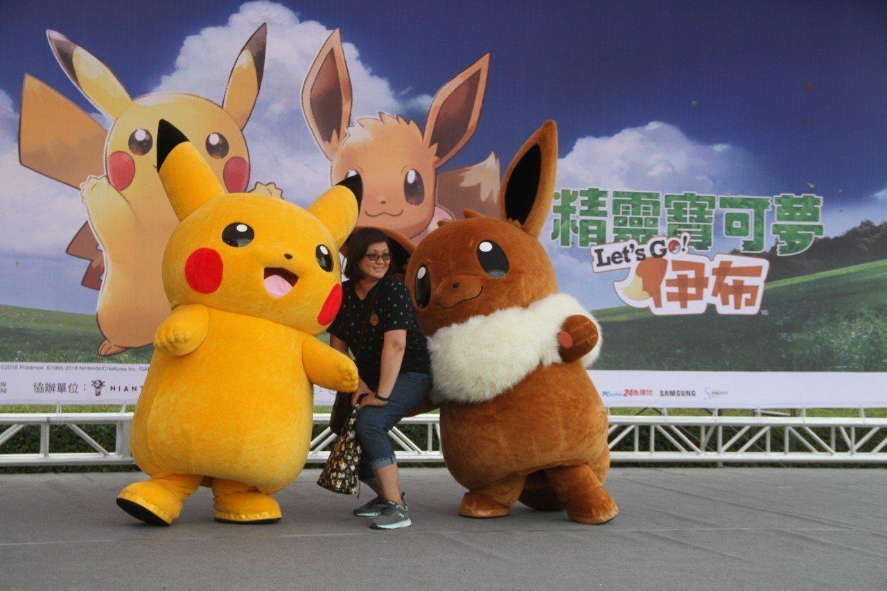 寶可夢今天起為期5天在台南登場,主場地奇美博物館天天有神奇寶貝表演。記者吳淑玲/...