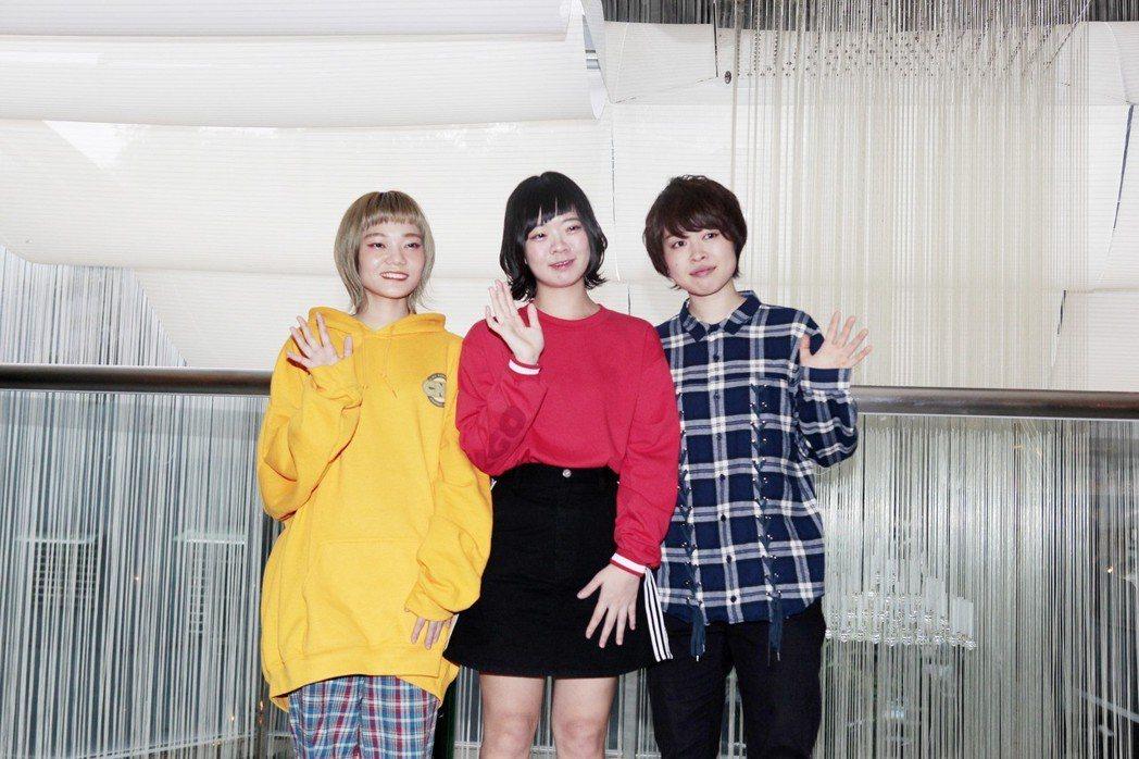 日本女子團體SHISHAMO。圖/好玩國際文化提供。