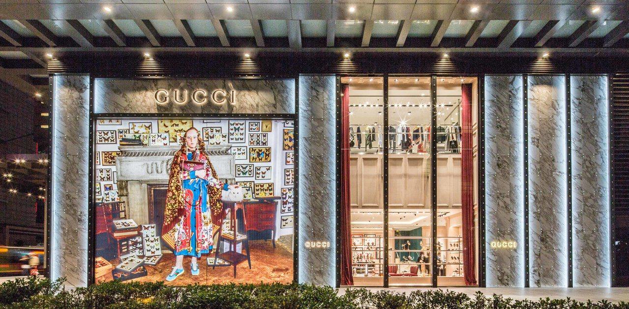 Gucci信義新天地A4店鋪換上創意總監Alessandro Michele帶來...