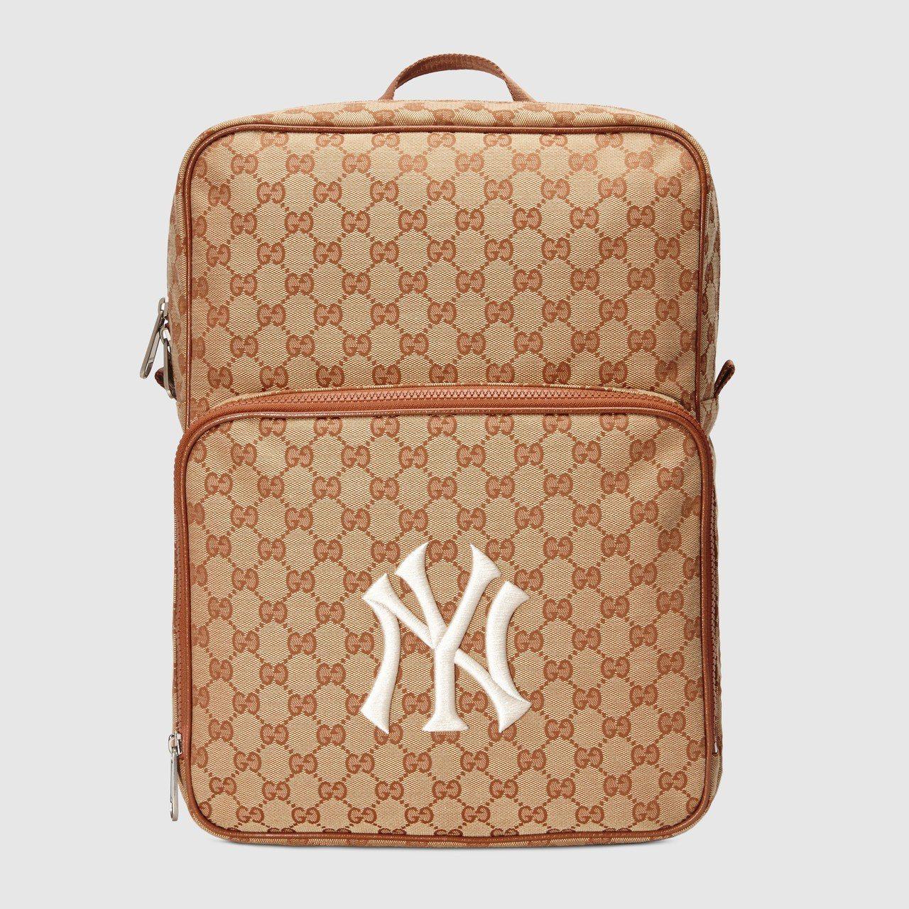 NY Yankees™貼飾後背包,39,700元。圖/Gucci提供