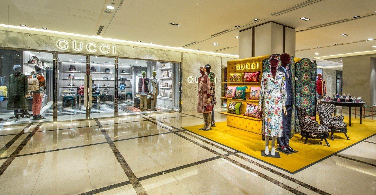 重新開幕的Gucci信義新天地A4店,最大特色就是擁有全台首度登場的Gucci ...
