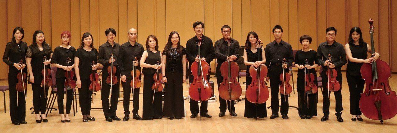 巴洛克獨奏家樂團將與小提琴家曾宇謙合作演出「世紀.四季」音樂會。圖/中山大學提供