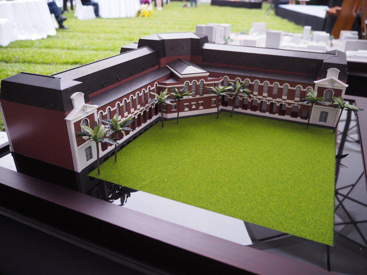 文化部補助5.8億元、台中市出資4.7億元,將修復台中州廳、舊台中市議會變成「國...