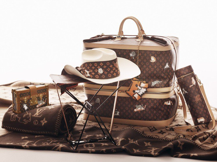LOUIS VUITTON X Grace Coddington系列於11月2日...