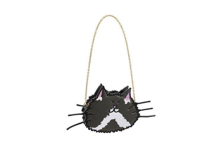 中山店獨家LV X Grace Coddington貓咪手拿鍊帶包,售價69,0...