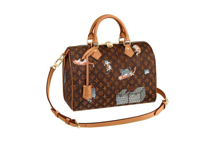 LV X Grace Coddington Speedy包款,售價72,000元...