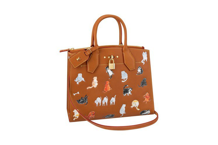 LV X Grace Coddington Steamer MM包款,售價13萬...