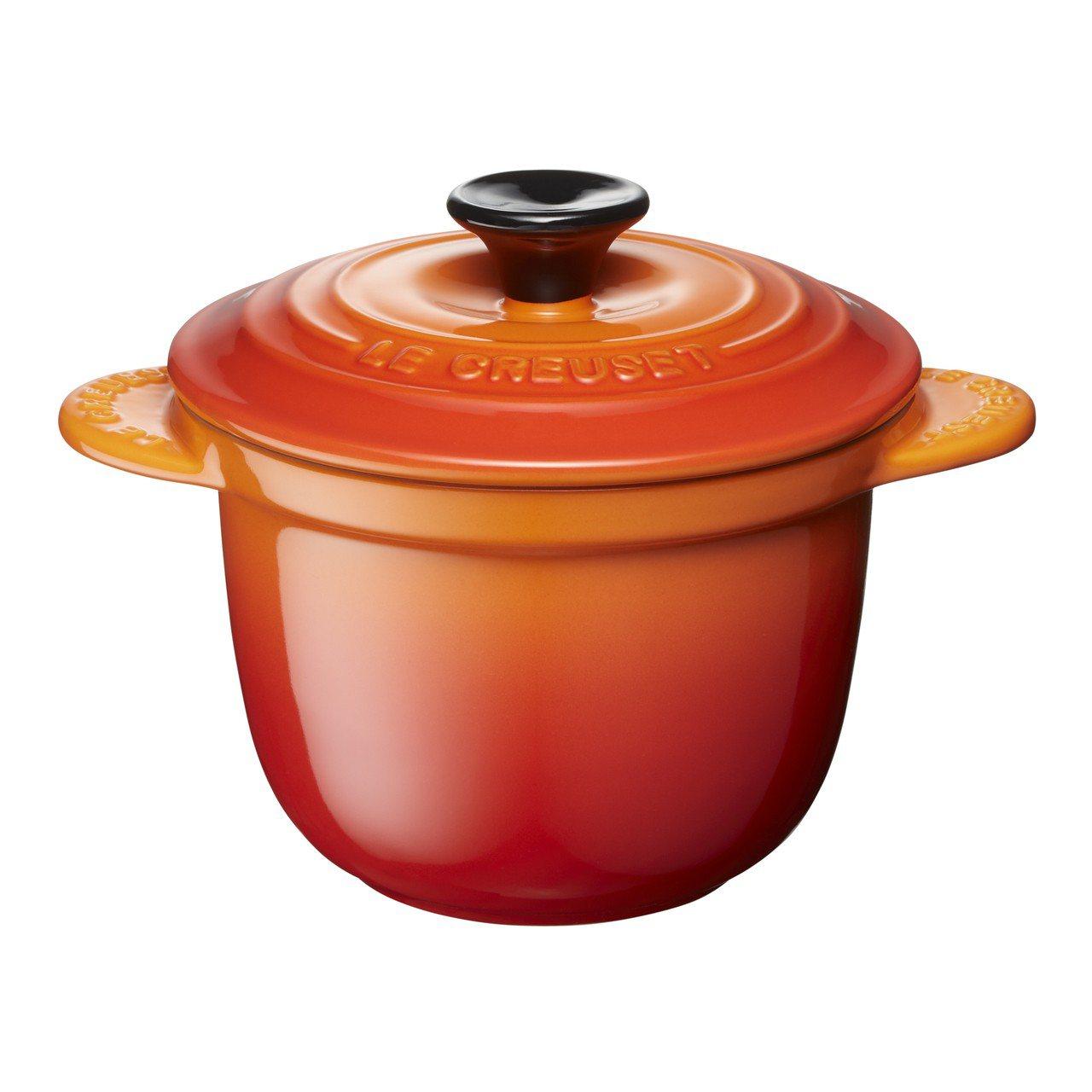 與萬用窈窕鍋同樣造型設計的迷你飯煲烤盅也同步上市。圖/Le Creuset提供