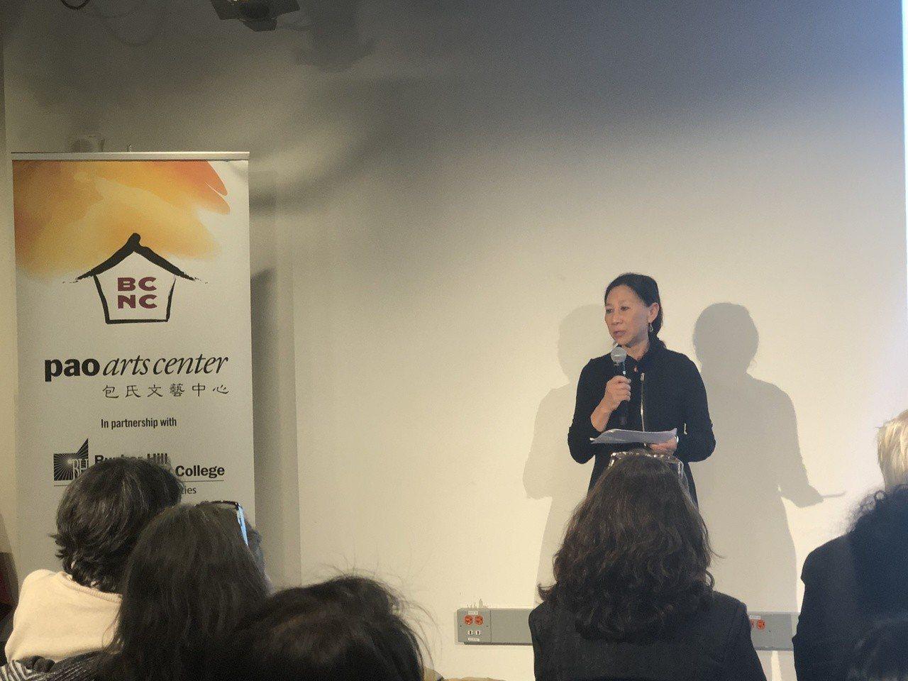 亞裔女藝術家經歷分享會 記者劉晨懿之攝影
