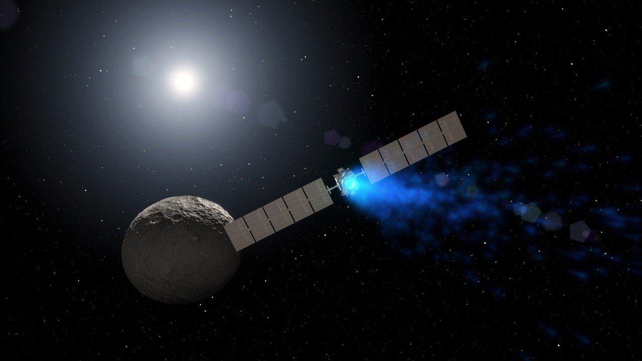 NASA官員1日表示,11年前發射、針對小行星帶從事研究的太空船「黎明號」(Da...