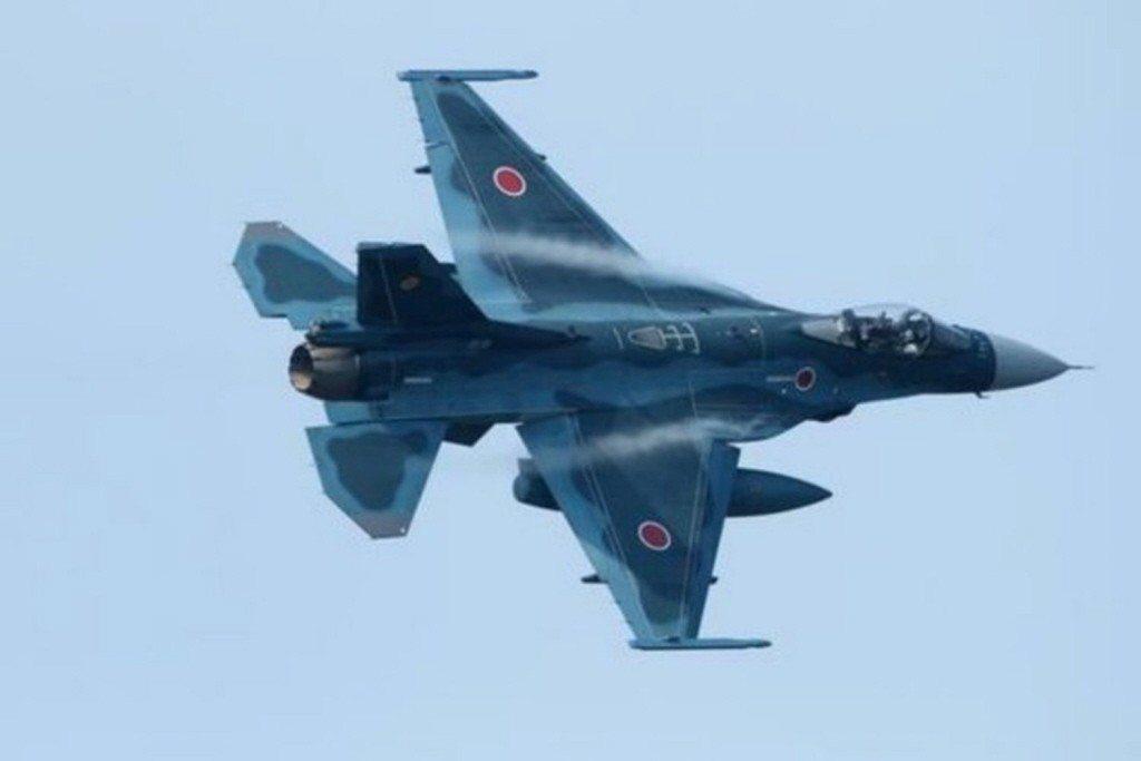 日本航空自衛隊的F-2支援戰鬥機。(取材自人民網)