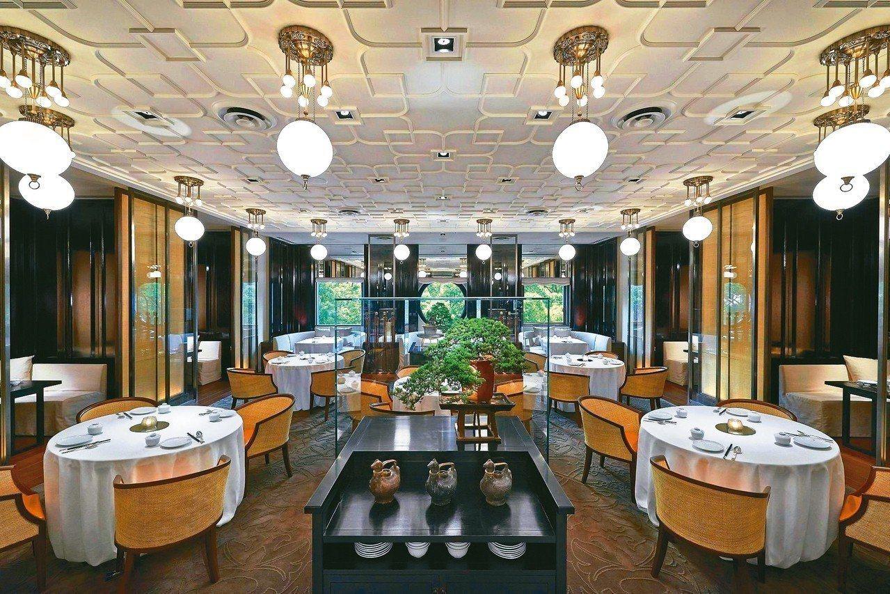 雅閣中餐廳於2018《台北米其林指南》中獲得一星評價。圖/台北文華東方酒店提供