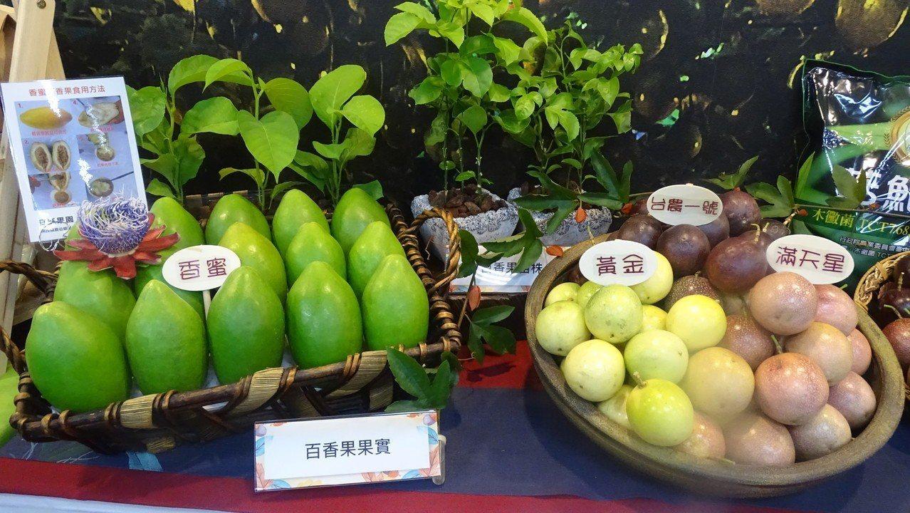 百香果引進台灣已逾1世紀,目前最普遍的是紫色的台農一號,果農自行育成滿天星、黃金...