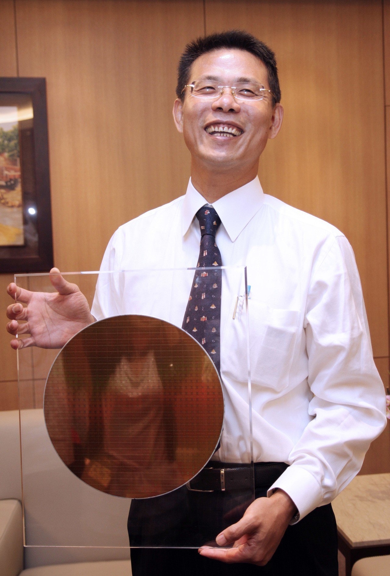 前美光高階主管,現任福建晉華總經理陳正坤。 報系資料照片