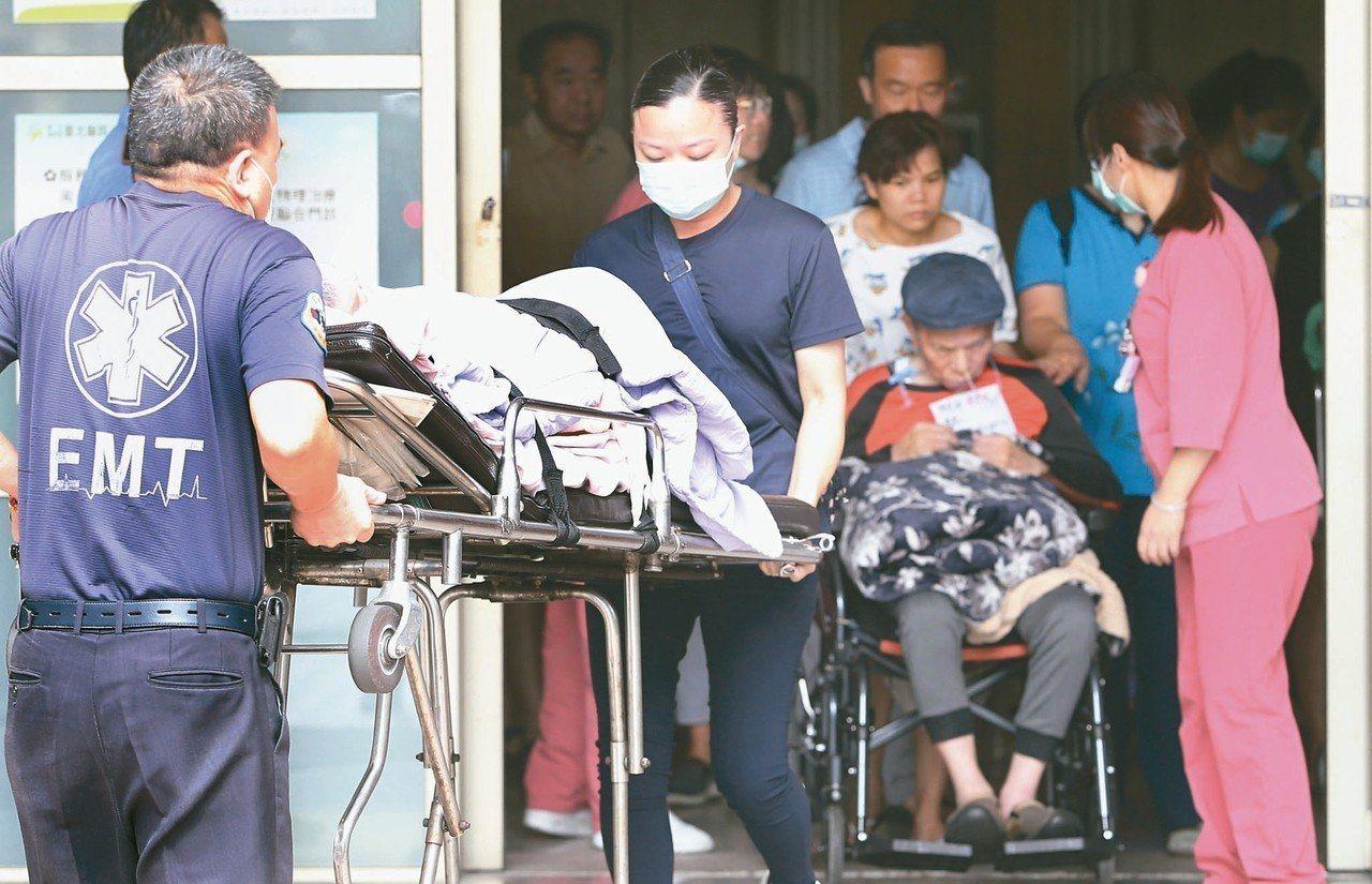 新北地檢署調查台北醫院護理之家大火14死意外,昨天傳喚16名證人後,其中5人涉嫌...
