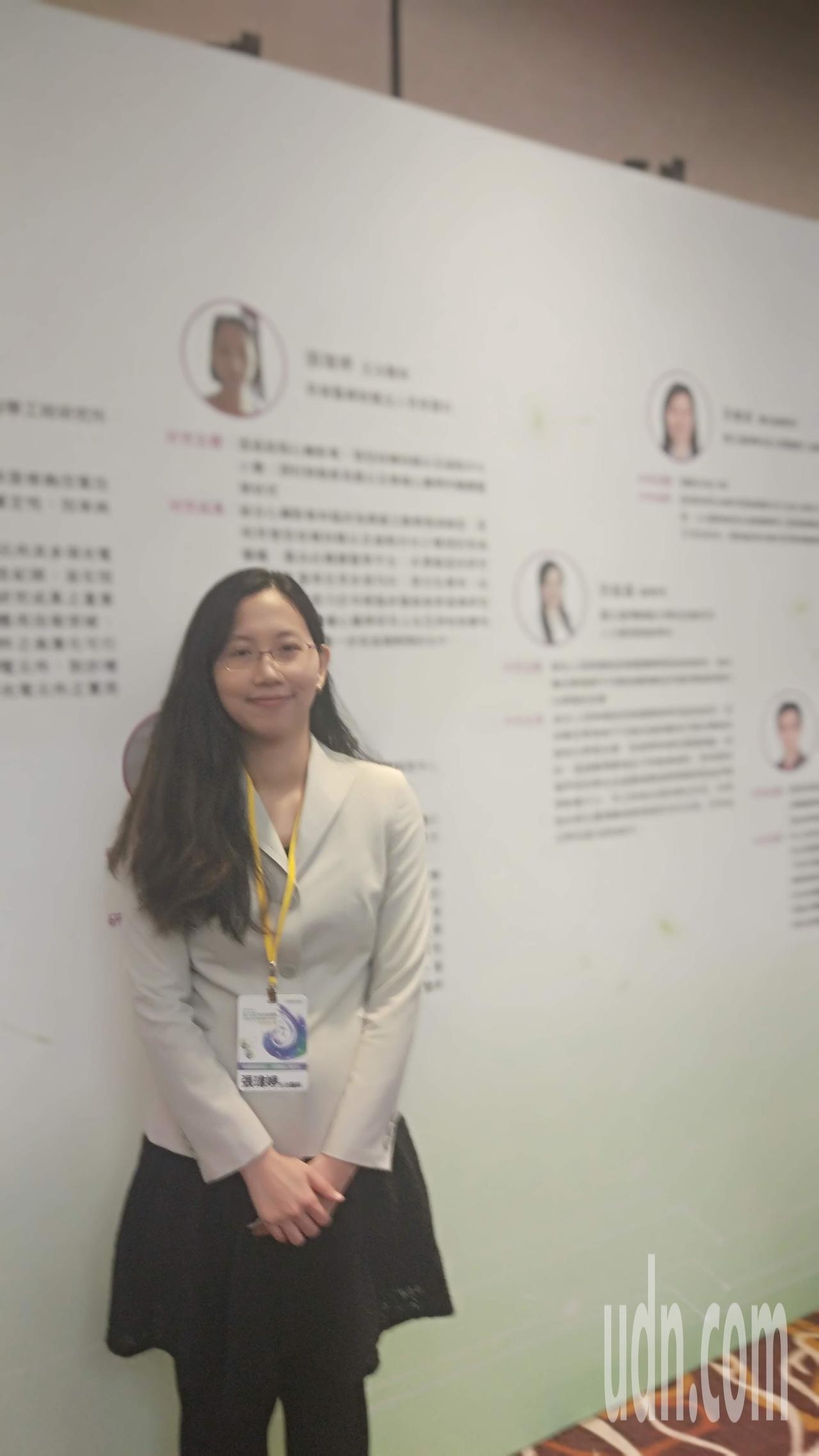 獲頒今年吳大猷先生紀念獎之一的奇美醫院主治醫師張瑋婷已育有2個孩子,最大的才1歲...