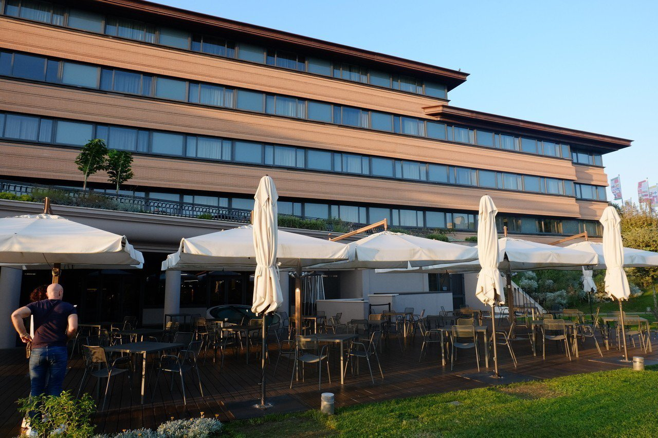 雲朗集團旗下的「A.ROMA」羅馬大飯店的外觀。記者韓化宇/攝影