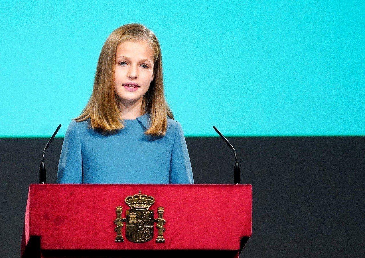 西班牙國王長女萊昂諾爾公主(Princess Leonor)31日歡度13歲生日...