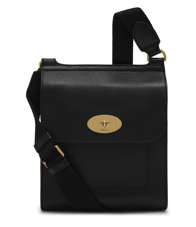 MULBERRY Small Antony男用側背包,售價22,200元。圖/M...