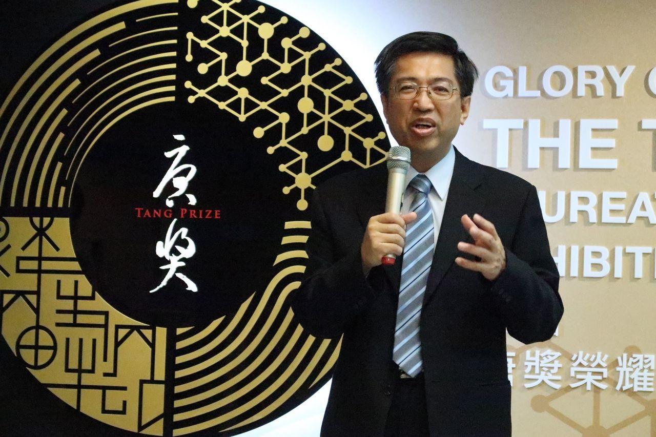 唐獎教育基金會執行長陳振川表示,希望透過與科工館的教育合作,讓親師生共同思考息息...