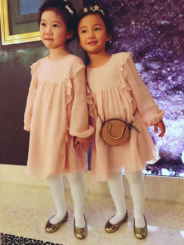 唐嫣婚禮上的小花童很搶鏡。圖/Chloé提供