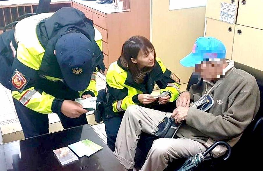 警方先是連繫最初開立該單據的診所,經診所醫護人員協助,向圖翁家人詢問後,終於與圖...