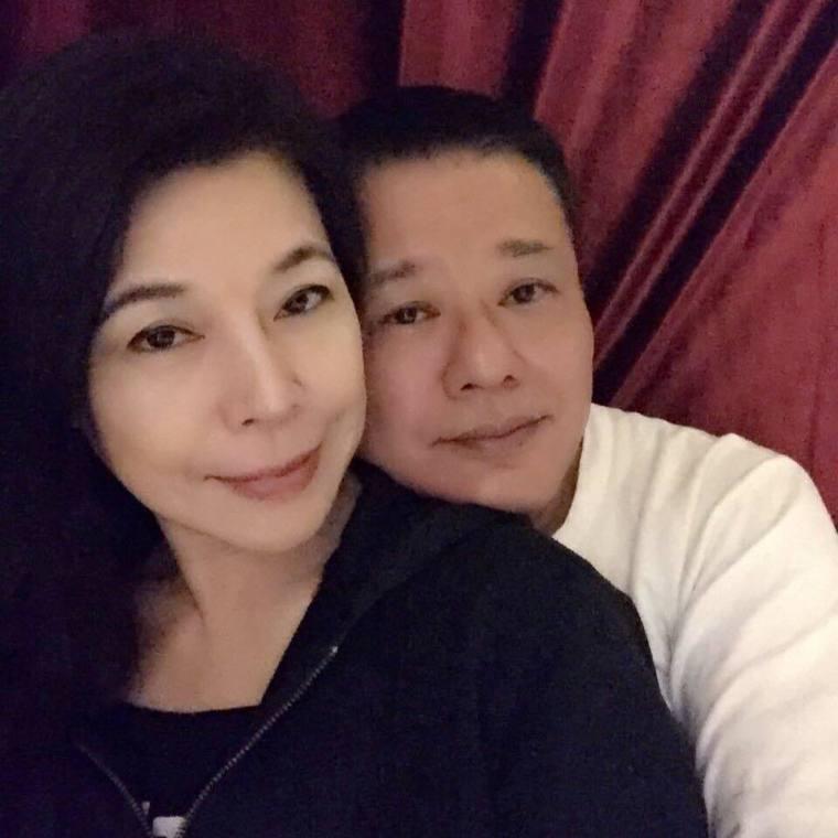 安迪(右)因食道癌第三期正在接受治療。圖/摘自臉書