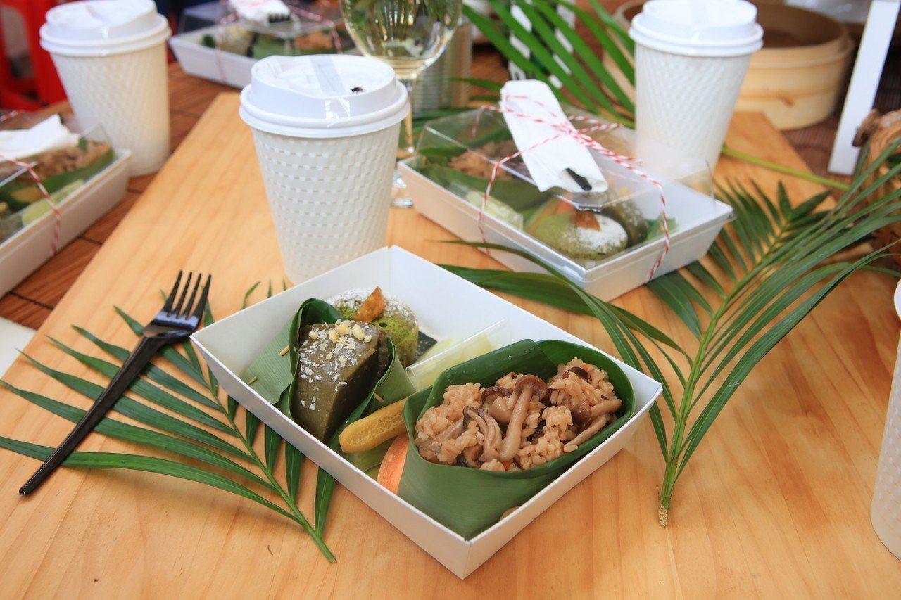 茶食六趣家常組合將於4日好茶展售會限量試賣。圖/桃園市客家事務局提供