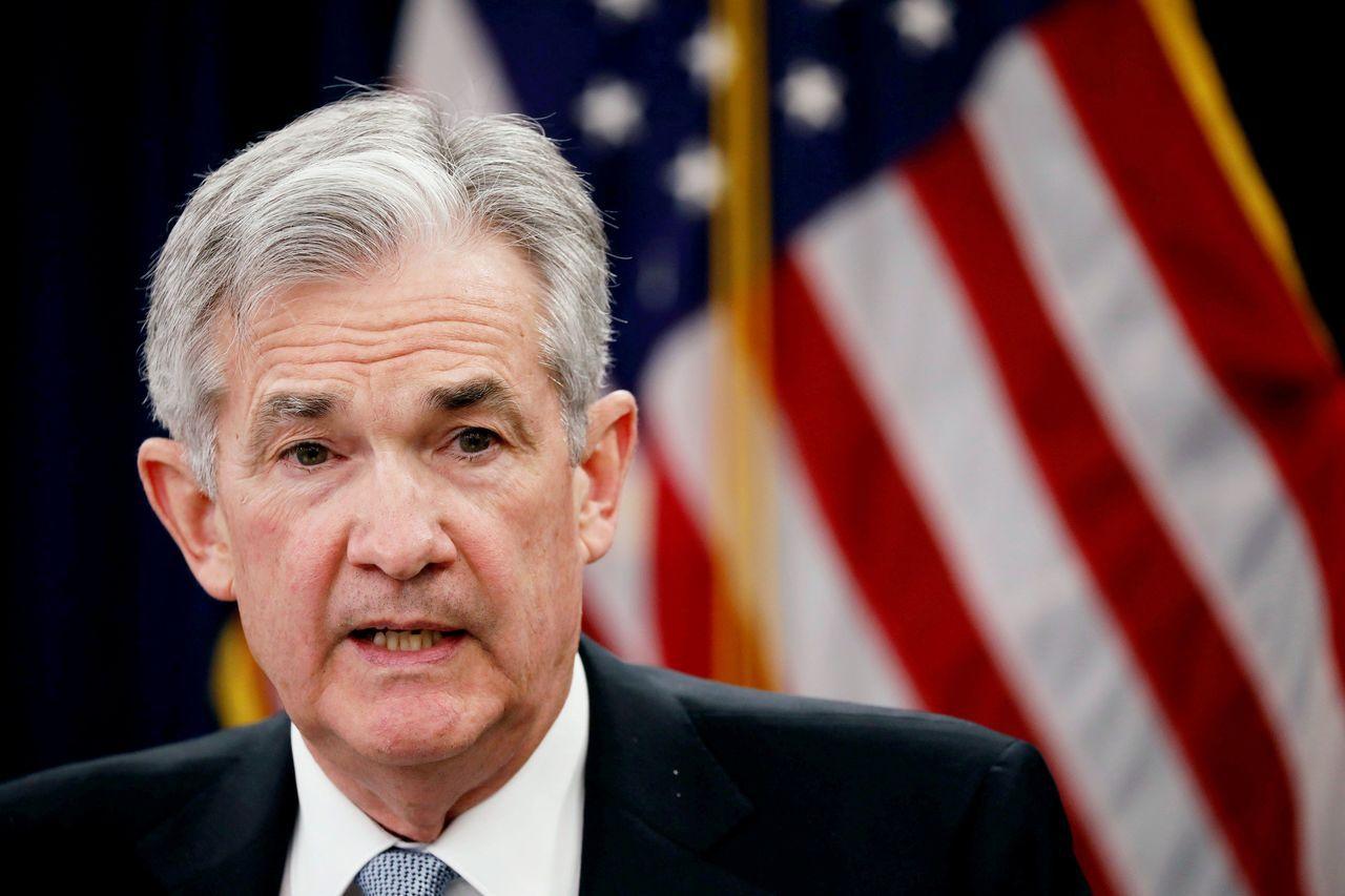 美國聯準會(Fed)主席鮑威爾。路透