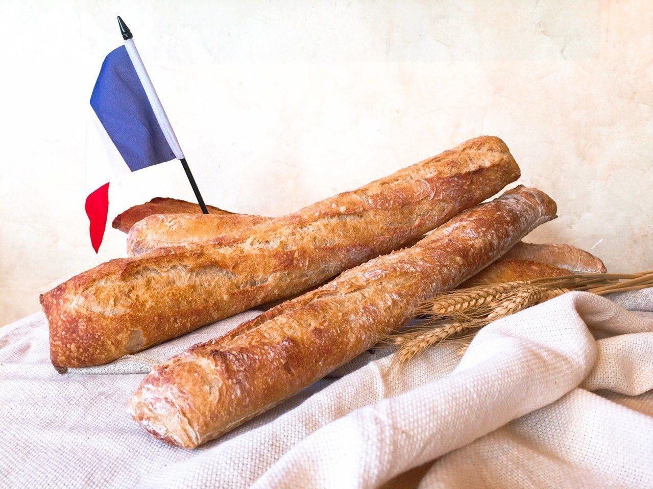 法國在今年為長棍麵包申請加入「世界文化遺產」。圖/PAUL Taiwan提供