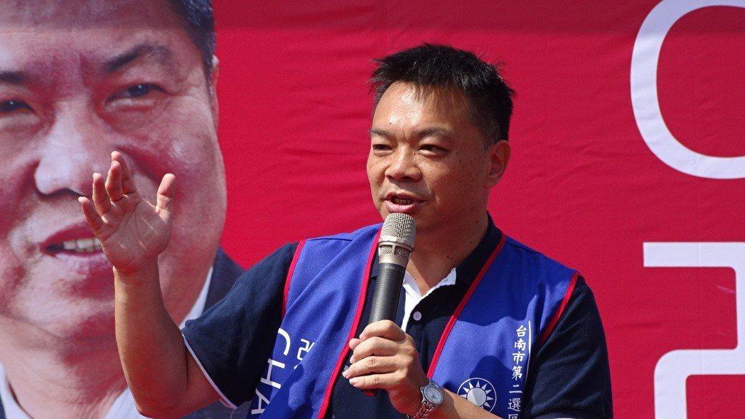 對手質疑「落跑10年」,國民黨台南市長候選人高思博回應,他的家一直在台南。 圖/...