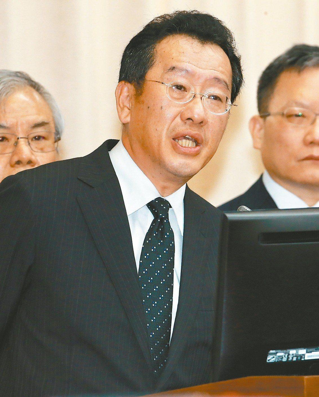 金管會主委顧立雄 (本報系資料庫)