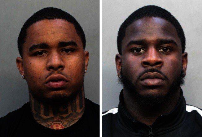 警方表示,嫌犯Hedge(左)、 Lee(右)是紐約市的幫派高層成員。(警方提供...