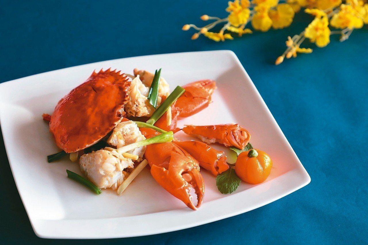 經典薑蔥焗螃蟹 圖/業者提供