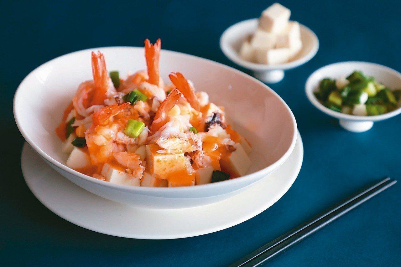 鮮蝦蟹粉滑豆腐 圖/業者提供