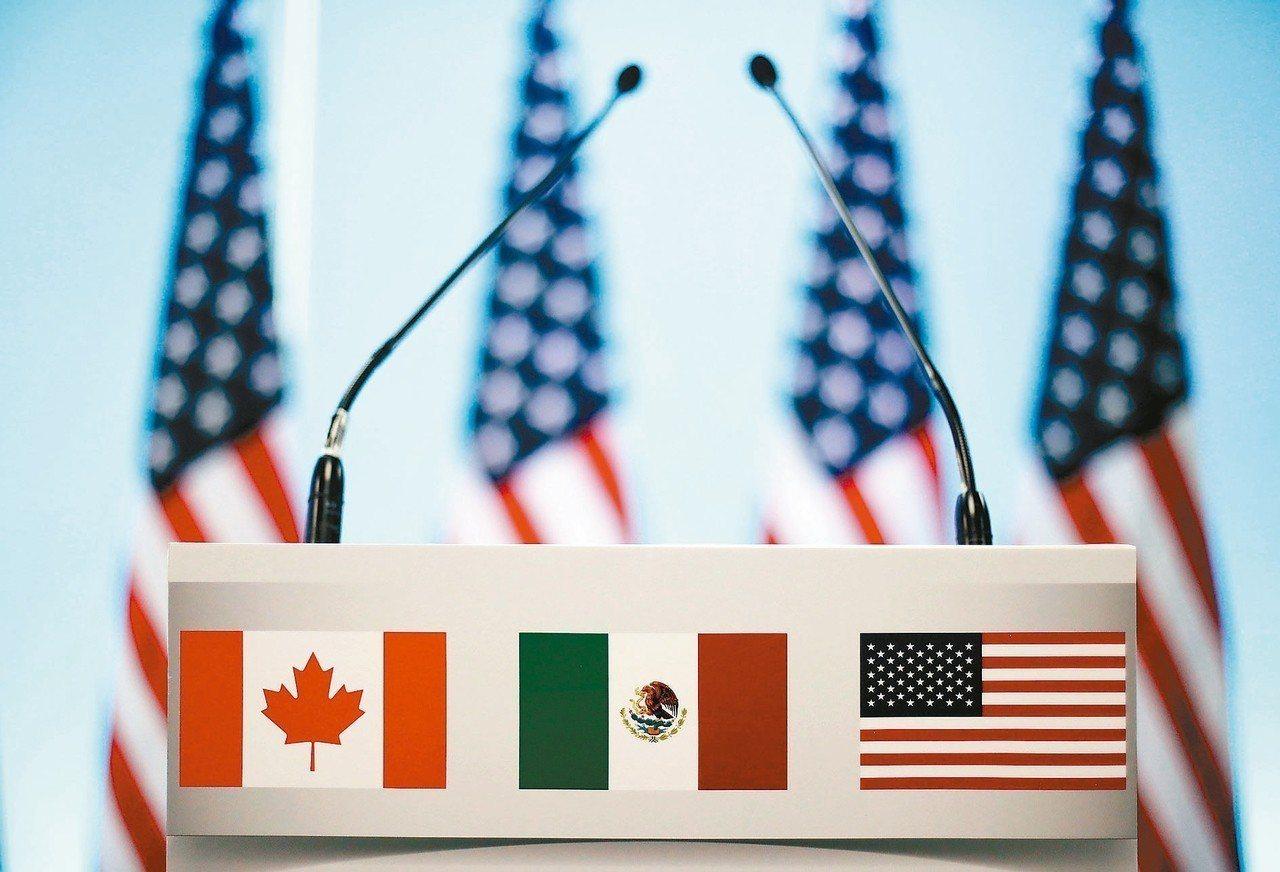 一份新報告指出,「美國-墨西哥-加拿大協定」因關稅蒙上陰影,損失金額恐為出口額增...