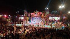 台中花博首日遊客逾5萬 晚會絢麗精彩