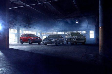 迎接洛杉磯車展 Toyota推出Camry、Highlander Nightshade特仕車!