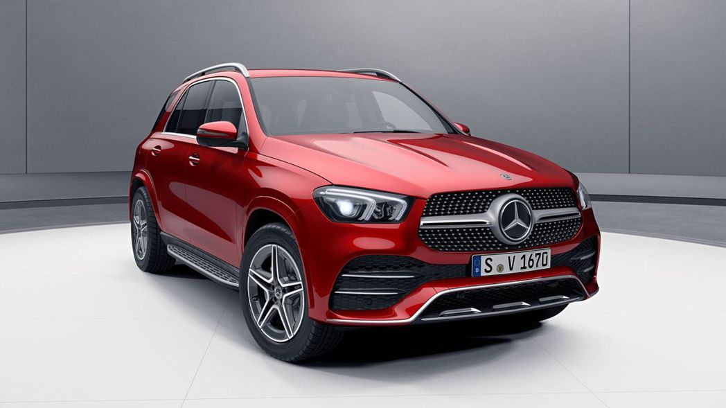 全新Mercedes-Benz GLE。 摘自Mercedes-Benz