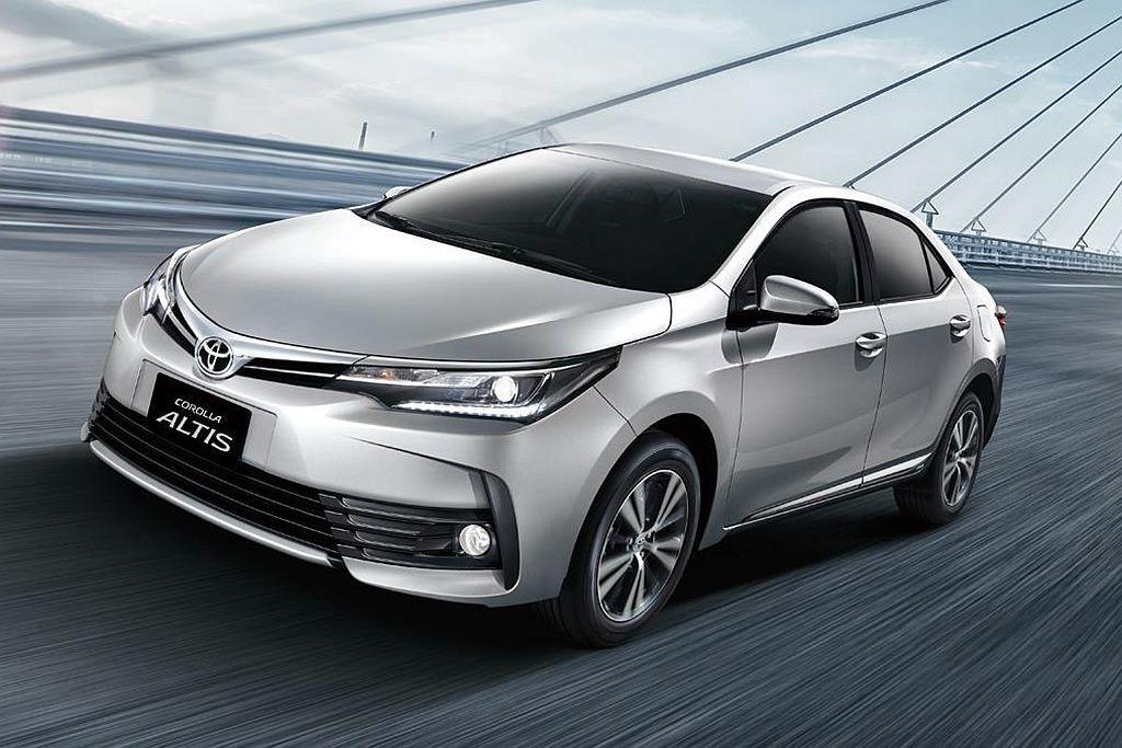 穩坐銷售排行冠軍的依然是Toyota Corolla Altis,前三季銷售達2...