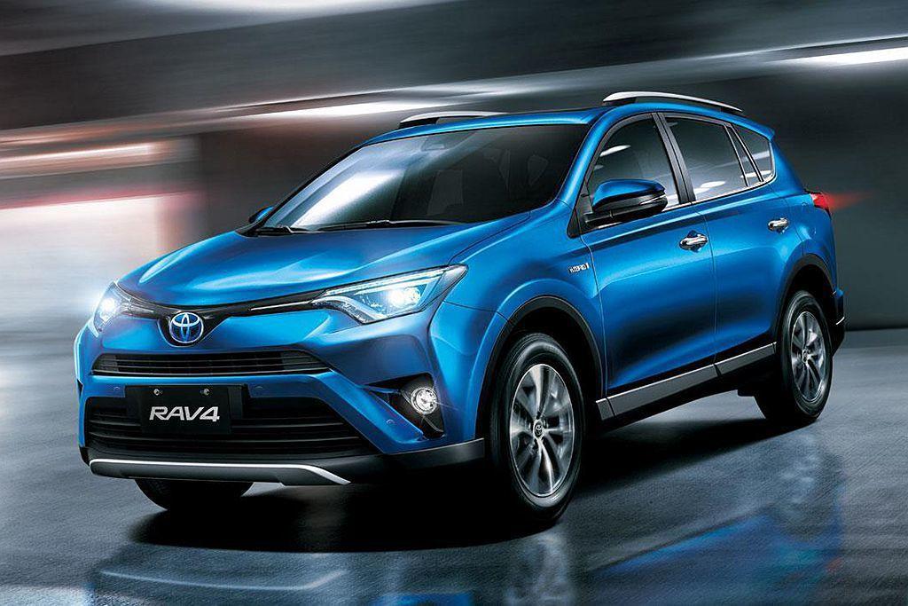 Toyota RAV4即便已屆改款,仍發揮不俗的銷售實力。 圖/Toyota提供